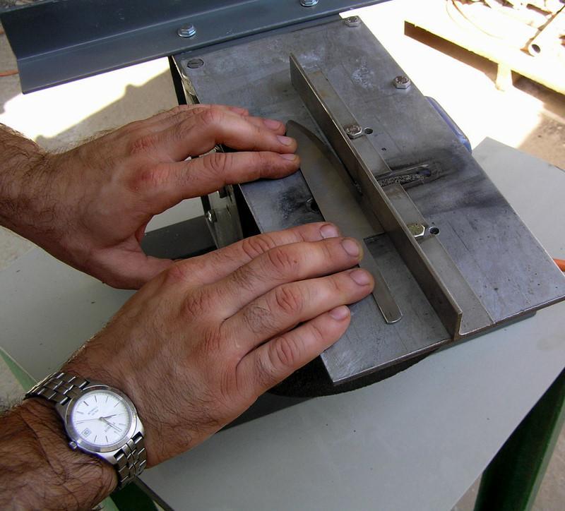 Как сделать правильно спуск на ноже